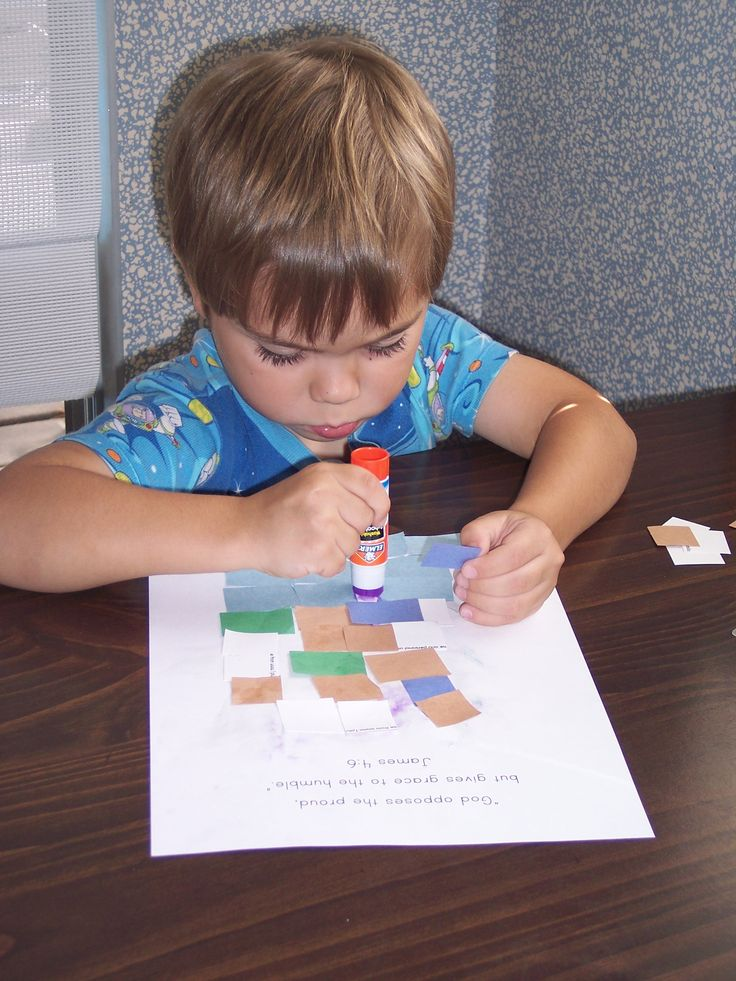 Tower of Babel: Easy Preschool activity .... cut up squares of different colored paper and let them build a Tower of Babel .