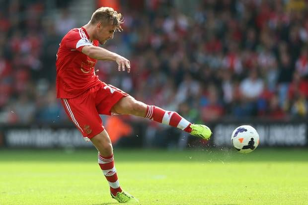 Southampton's 18 year old left back Luke Shaw has been impressing many fans this season.