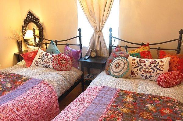 『モロッコ風な寝室にあこがれて』
