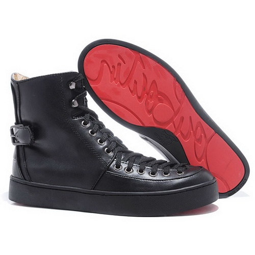 Christian Louboutin Alfie Flat Men Sneakers Black - My massage therapist told me wearing the wrong shoes is creating too much tension in my lower back and shoulders. I interpret that to mean I need a pair of Christian Louboutin.