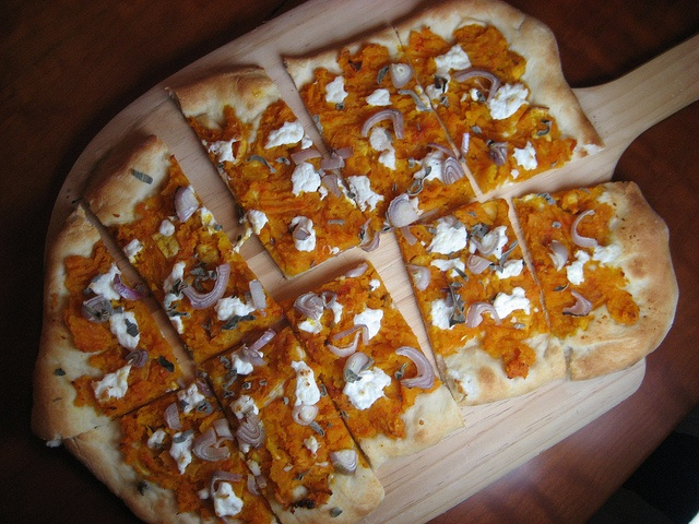 ... Moderns: Butternut Squash Flatbread with Shallots, Ricotta, and Sage