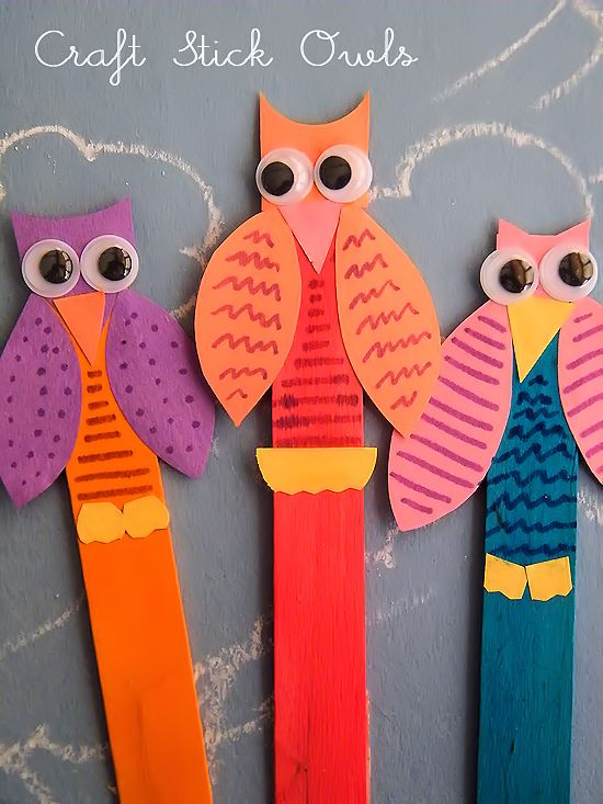 Personally, I think owl crafts are some of my favorite crafts. Kids can make them as cute and colorful as they want. In fact, the brighter the better. Our Craft Stick Owls definitely fit the bill! Get it? Bird, bill? Anyway, they're also perfect for this time of year. These Craft Stick Owls need only...Read More »