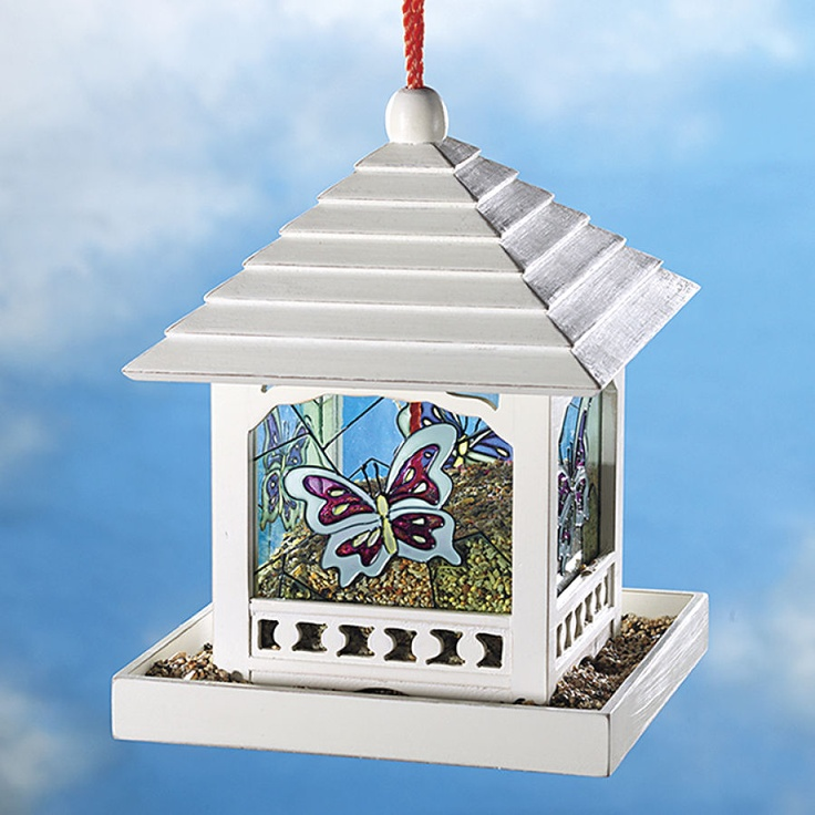 17 best images about bird feeders on pinterest bird for Bird house styles