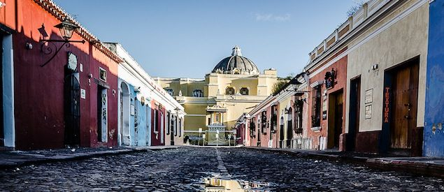 Marvel at the fantastic colonial architecture and vibrant, bright colors in La Antigua during your down time!