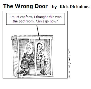 Funny Priest Joke  Cartoon