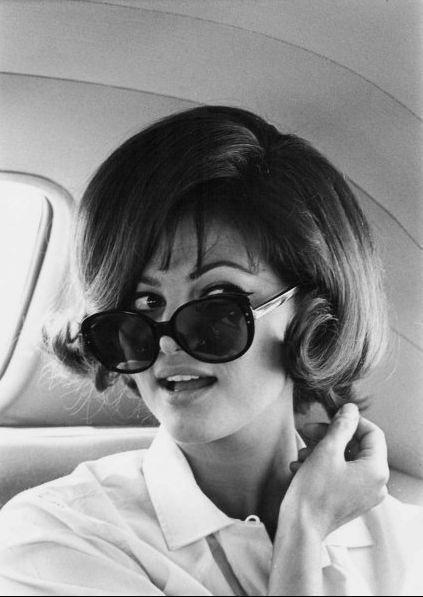 Claudia Cardinale: Bobs, Retro Hair, 1960S Hairstyles, Vintage, Beautiful, Claudia Cardinals, Hair Style, Sunglasses, Claudia Cardinale