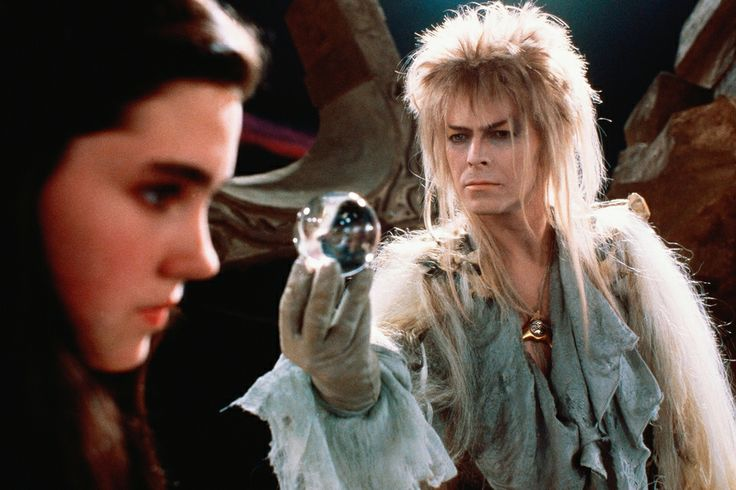 Jim Henson directed Bowie and Jennifer Connelly in 'Labyrinth' (1986). TriStar/Everett Collection