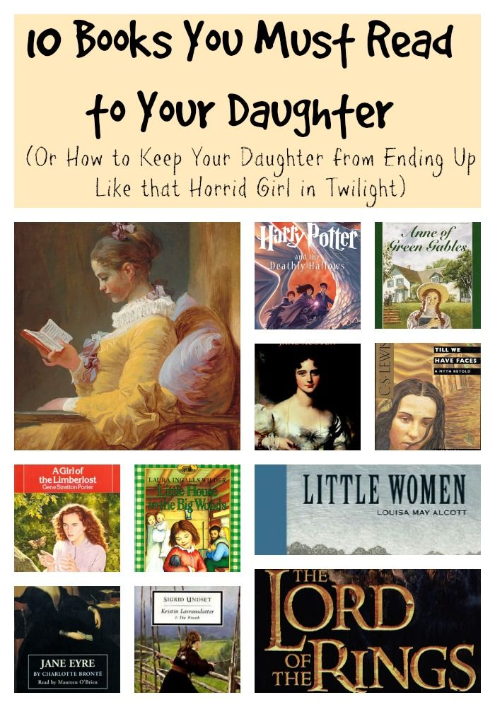 10 Books You Must Read To Your Daughter (Or How To Keep