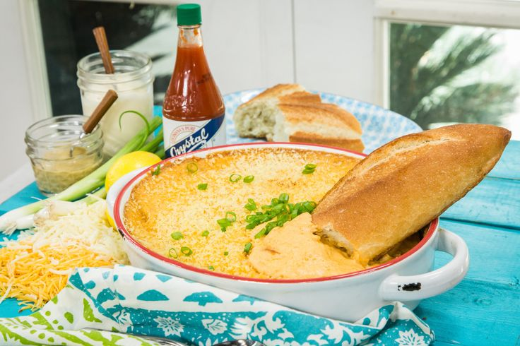 """A delicious hot #CrabDip inspired by Hallmark's new original show """"Chesapeake Shores"""". For more scrumptious recipes, watch Home & Family weekdays at 10a/9c on Hallmark Channel!"""