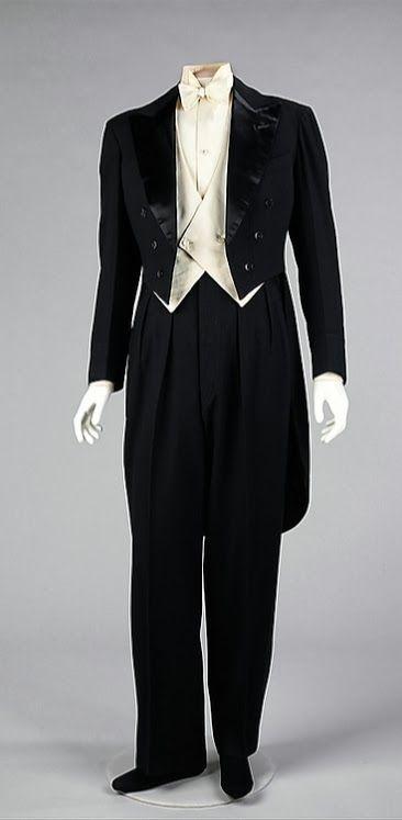 Tuxedo, 1927 // by Jeanne Lanvin / The Metropolitan Museum of Art ~ the epitome of elegance :)