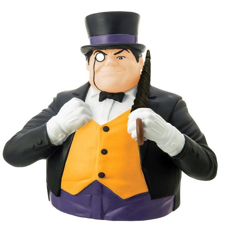 Tirelire buste du Pingouin - Batman DC Comics