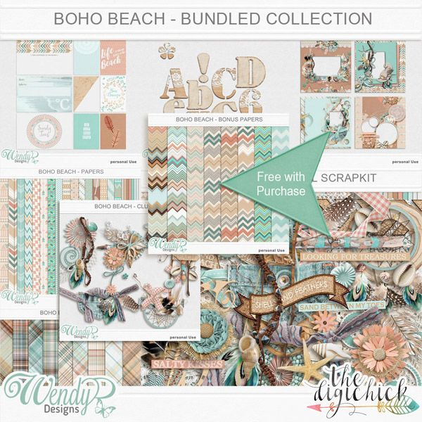 Boho Beach - Bundled Collection