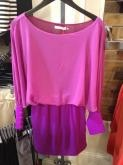 WRAL: Purple and pink dress from Apricot Lane