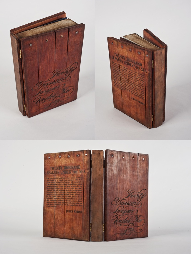 Wooden Book Cover Diy : Best wooden books book binding images on pinterest