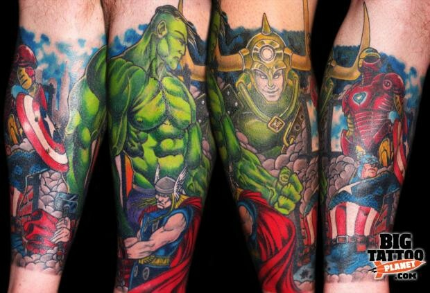 59 best images about marvel tattoos on pinterest comic book tattoo sleeve and avengers. Black Bedroom Furniture Sets. Home Design Ideas