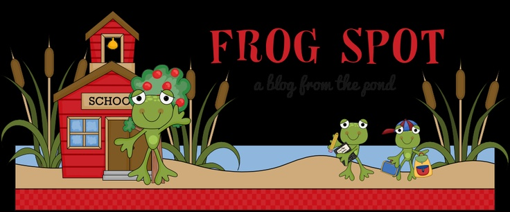 Frog Spot - cute blog with some great ideas!
