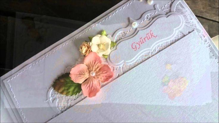 White wedding album - Fehér esküvői album  www.szivtolszivig.blogspot.com