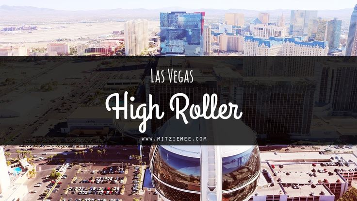 A view from High Roller - The ferris wheel in Las Vegas