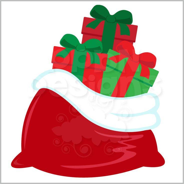 santa bag clipart free - photo #38