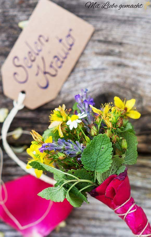 Kräuter für die Seele – besondere Rezepte und Ideen für besondere Menschen, Kräutersträußchen, Mit Liebe gemacht, DIY Kräuter