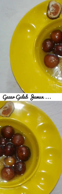Gazar Gulab Jamun Easy sweet Dessert Recipe by Ashwini in Marathi... Tags: YOUTUBE VIDEO, Sweet Dish for kids, Indian sweet dish, Gazar (Carrot) Gulab Jamun Recipe, Easy Recipe, Indian Recipe, Soft Gulab Jamun Recipe, Marathi Recipe, Baiza aai with Ashwini, Baiza aai with Ashwini