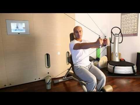 Exercitii pentru piept si spate - Kinesis cu Florin Nicolescu