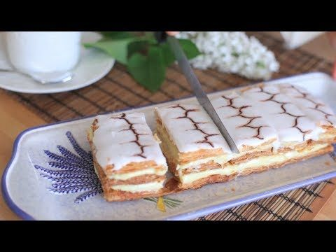 Mille Feuille - czyli ciasto francuskie z kremem - Allrecipes.pl