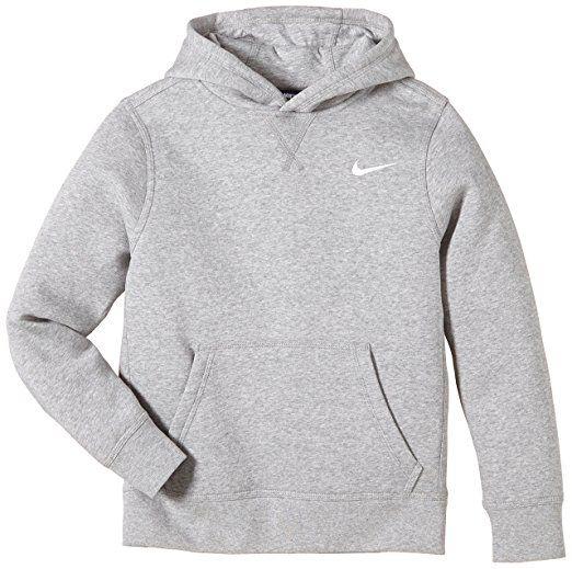 Nike Brushed Sweat-shirt à capuche Garçon: Amazon.fr: Sports et Loisirs