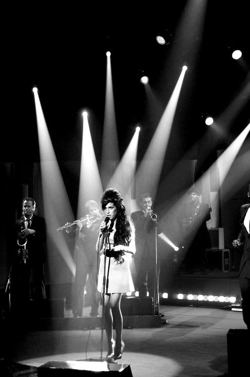 Amy Winehouse- amazing voice but even more an amazing person