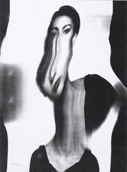 Since the Sixties Bruno Munari used a Xerox machine to make original works of art moving images while they were being copied, forcing the machine to create the exact opposite of what it was invented for.