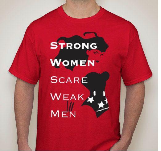Men seeking strong women