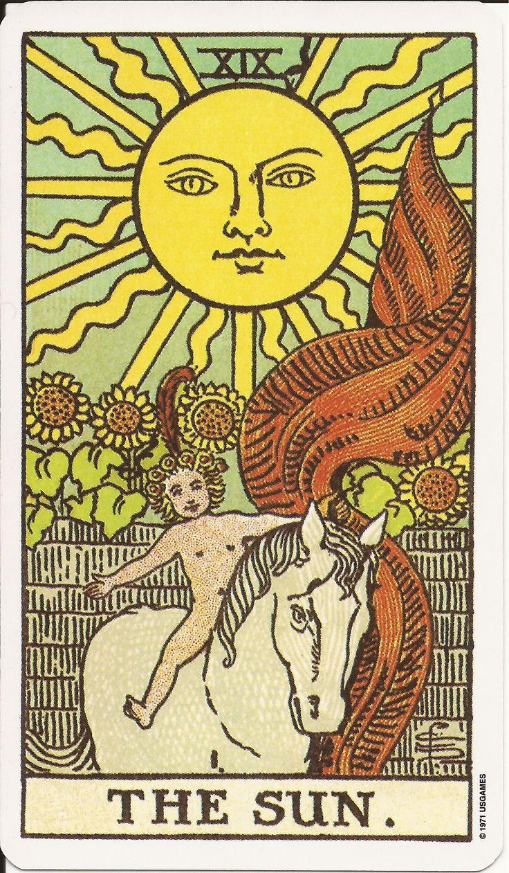 102 best tarot the sun images on pinterest  tarot cards
