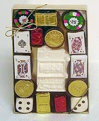 Chocolate Casino Gift Box - Large