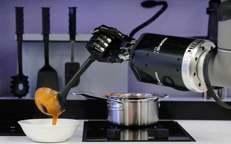 A robot which can imitate a top chef at work has been unveiled - and could   available to buy in just two years