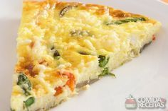 Receita de Torta leve de legumes - Comida e Receitas