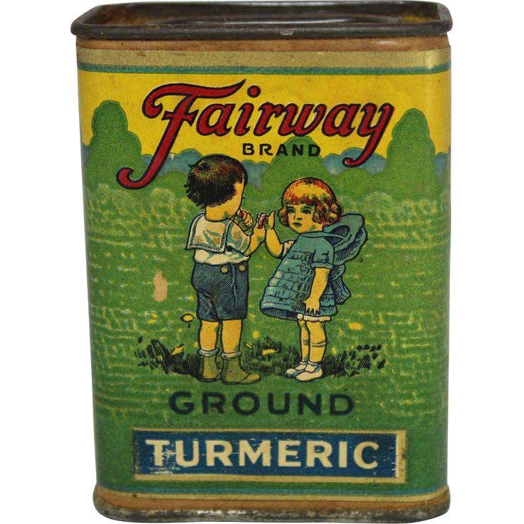 """Vintage """"Fairway Brand"""" Spice Container"""