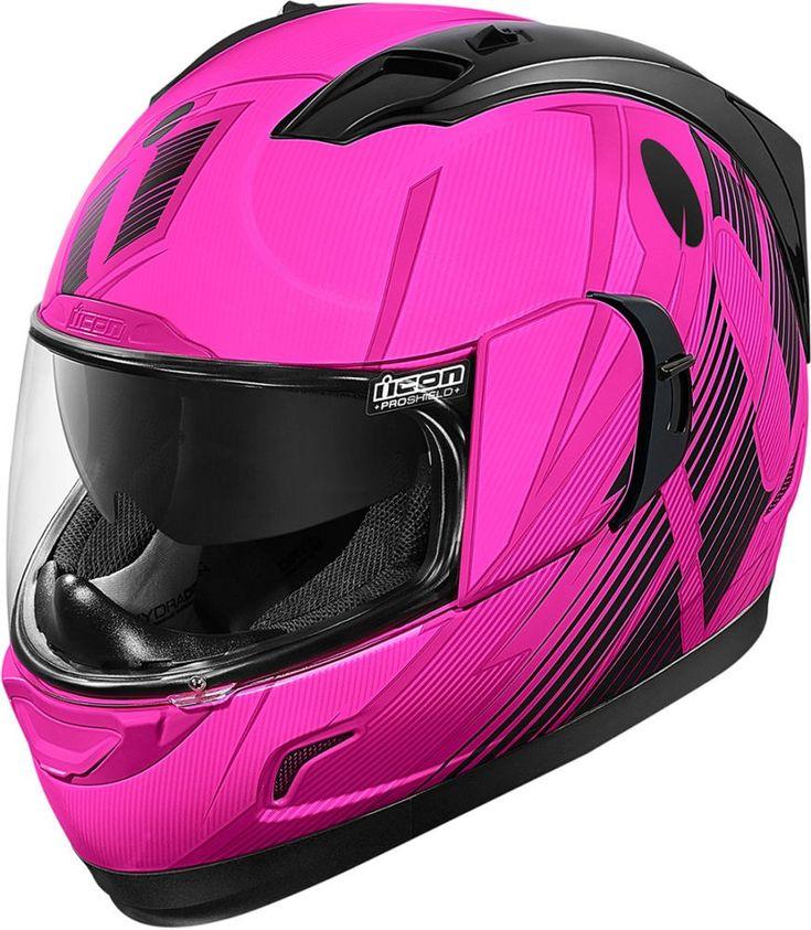 Icon Alliance GT Primary Womens Motorbike Biker Motorcycle DOT Helmets