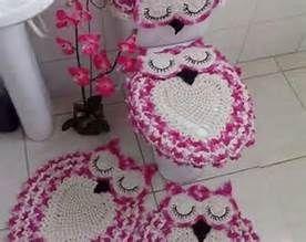 Owl Bathroom Set Crochet Pattern Free - Bing images