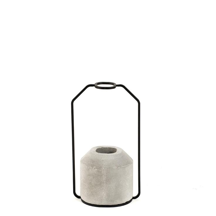 Weight Vase Concrete IV  by Decha Archjananun