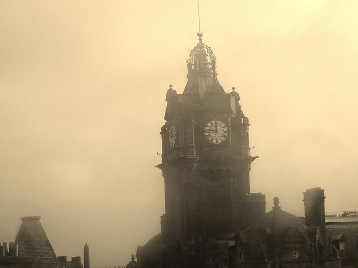 Clock Tower Of The Balm Hotel In Edinburgh All Things British Pinterest Visit And Pport Stamps