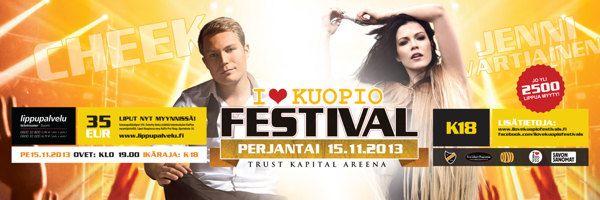 I Love Kuopio festivals -event by Ville Palmu, via Behance