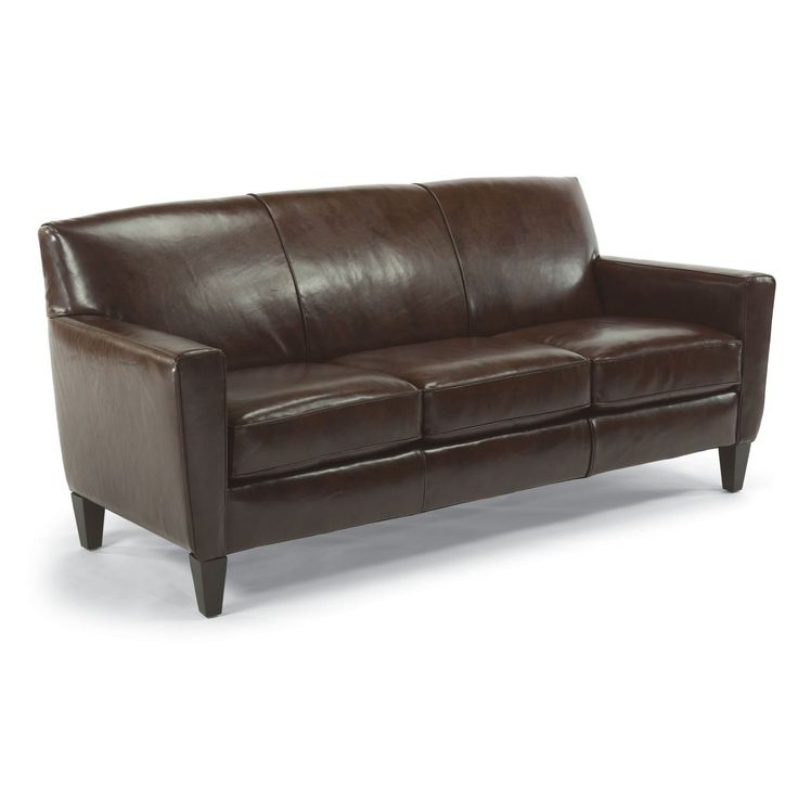 Flexsteel Digby Sofa In Leather. Wonderful Clean Lines U0026 Top Grain Leather!  See At Discovery Furniture In Topeka U0026 Lawrence, KS.