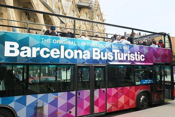 Tourist Bus Barcelona Hop On Hop Off Bus Tour Probe Around The Globe Barcelona Tours Spain Travel Guide Barcelona