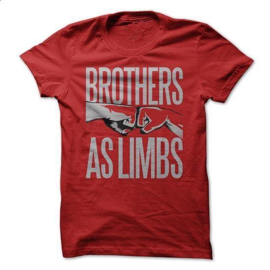 Brothers as limbs - design a shirt #shirt #Tshirt