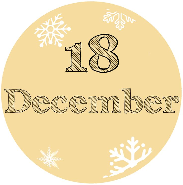 Our #Advent Calendar: 18 December - #blue #white #Christmas