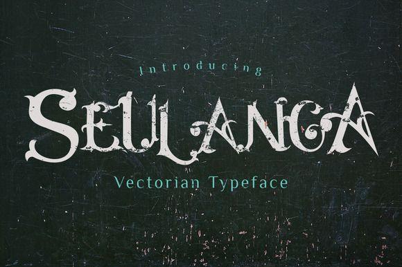 Seulanga Typeface by Dirtyline Studio on Creative Market