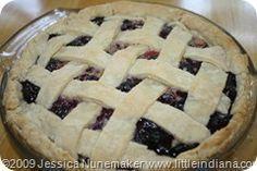 Blueberry Rhubarb Pie