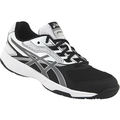 Asics Gel Upcourt 2 Volleyball Shoes - Womens Black Silver White