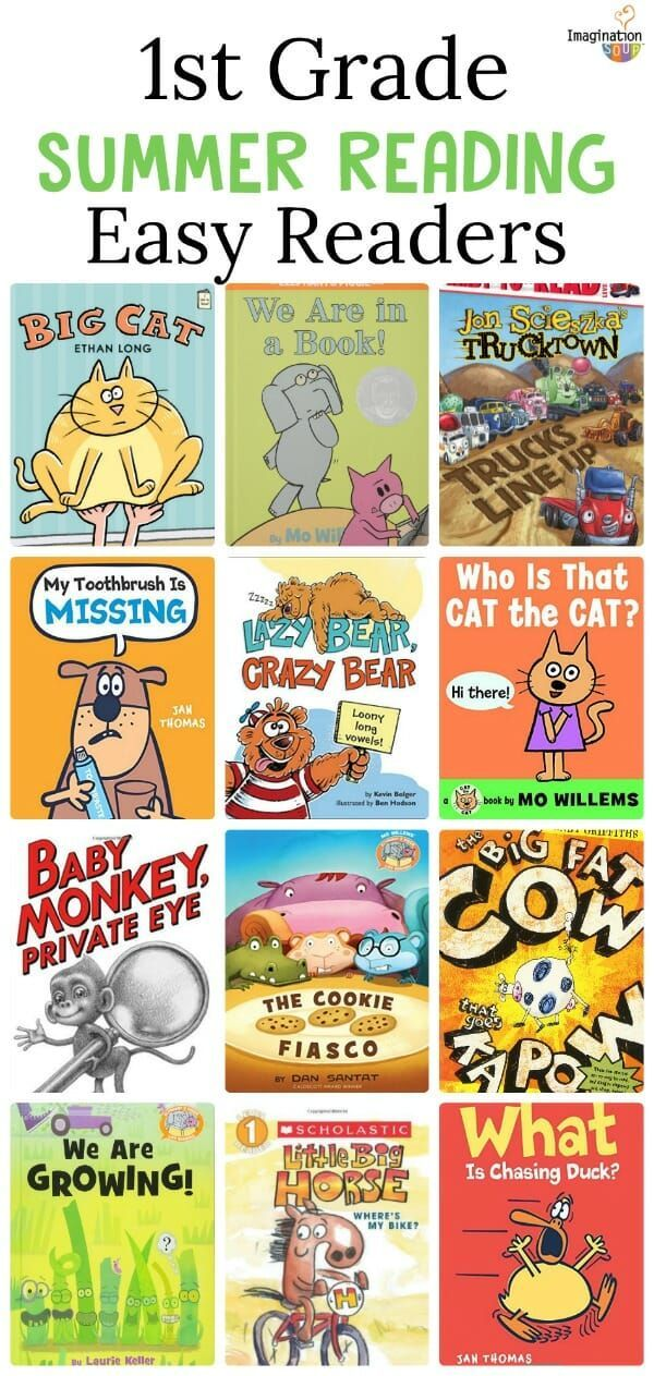 1st Grade Summer Reading List Of Books Best Books For Kids