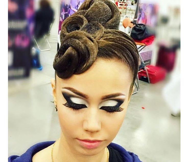 Kelly Simon Ballroom Makeup